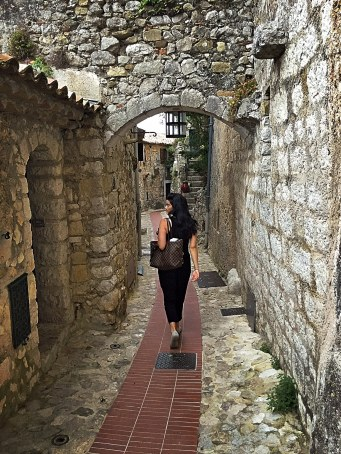 """Walking the """"streets"""" of Eze"""
