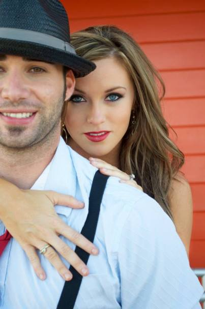 Engagement at Santa Cruz Beach Boardwalk